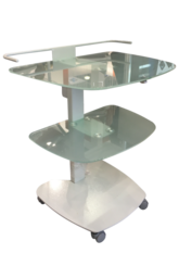 "Auxiliary dental table for  implantology and surgery ""Darta 1315\"" with large table top"
